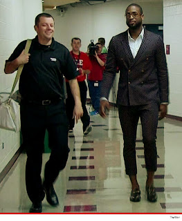 Dwyane Wade pedal pusher,fashion,boo boos