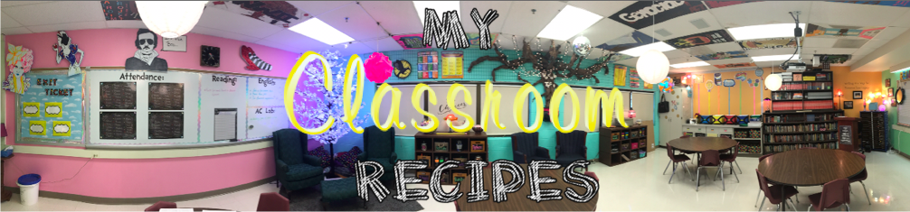 My Classroom Recipes