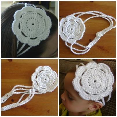 Yarn and string make such pretty things headband for Stuff to make with string