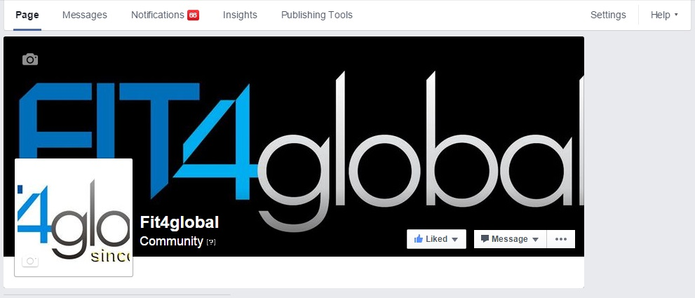 FIT4GLOBAL FACEBOOK FAN PAGE