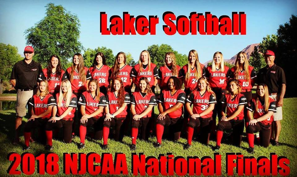 2018 NJCAA National Finals - Laker Softball