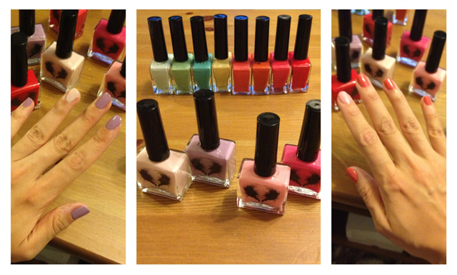 Lacc la couleur couture vegan friendly nontoxic nail polish spring collection