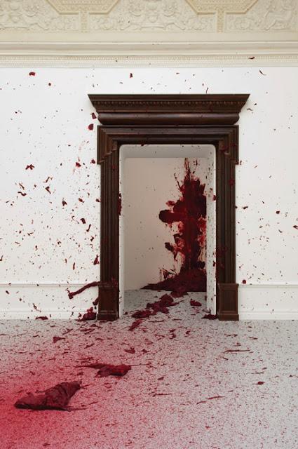 1104 Anish Kapoor Shooting into the corner 2 Royal Academy taidedesign com - ANISH KAPOOR: Exposición en Madrid