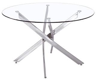 mesa crista y acero grande