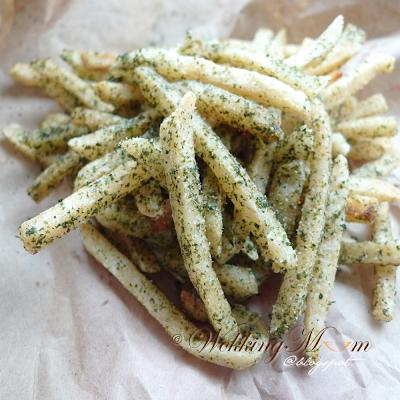 Seaweed Shaker Fries 紫菜摇摇薯条