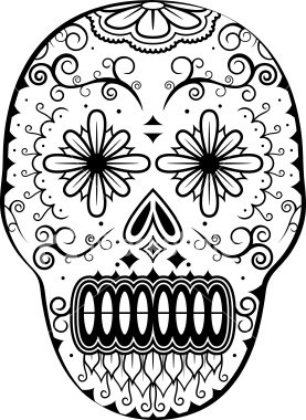 Alexagtz 39 s d a de muertos una celebraci n un poco inusual for All souls day coloring pages