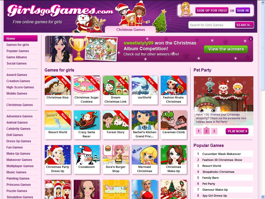 Games For Girls - Online Free Games
