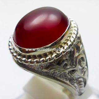 Batu Permata Red Carnelian Chalcedony