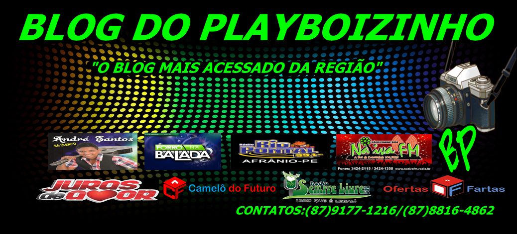BLOG DO PLAYBOIZINHO