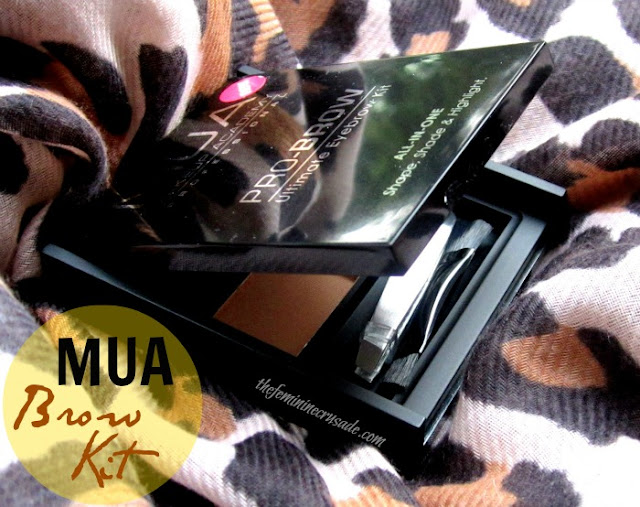 MUA Pro Brow Kit