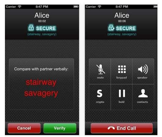 SafeSession Voice app