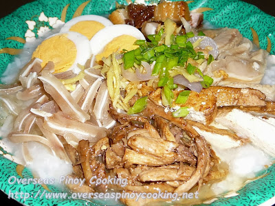 Special Lugaw, Special Pinoy Congee