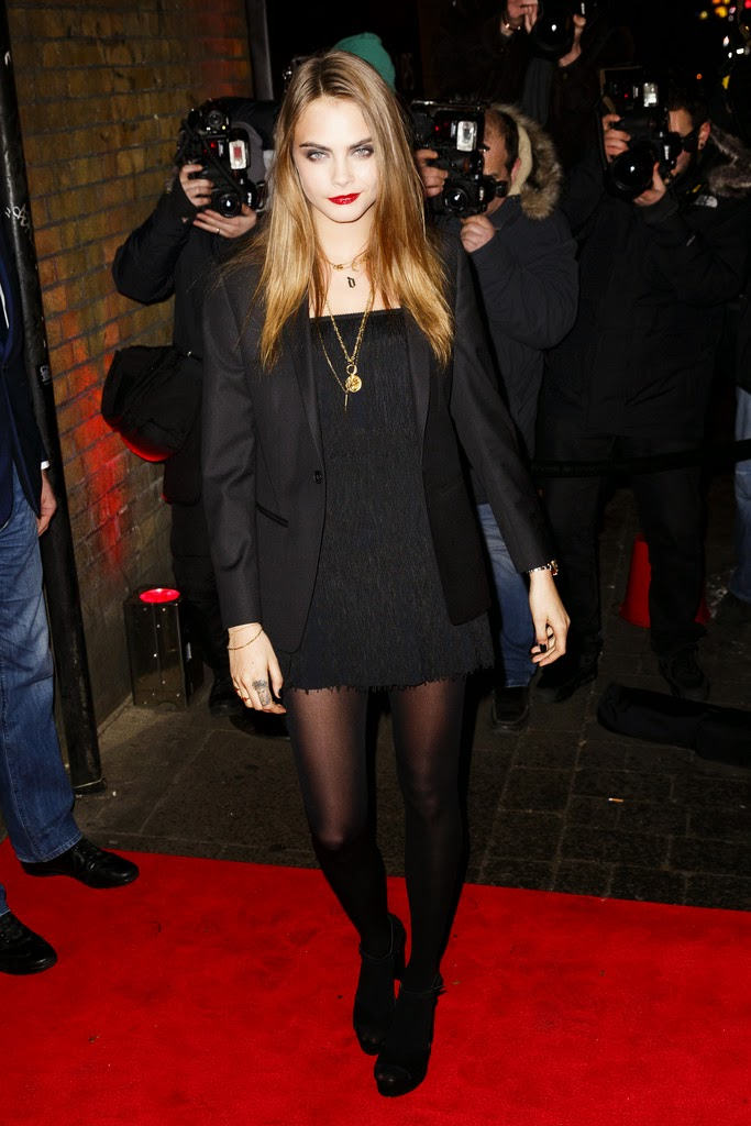 cara amp poppy delevingne at the ysl loves your lips party