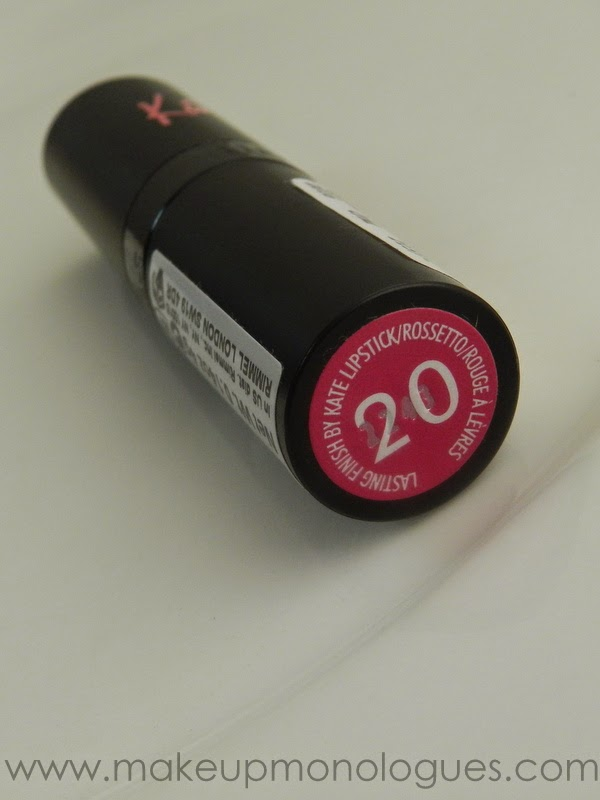 Rimmel Kate Moss Lasting Finish Lipstick 20