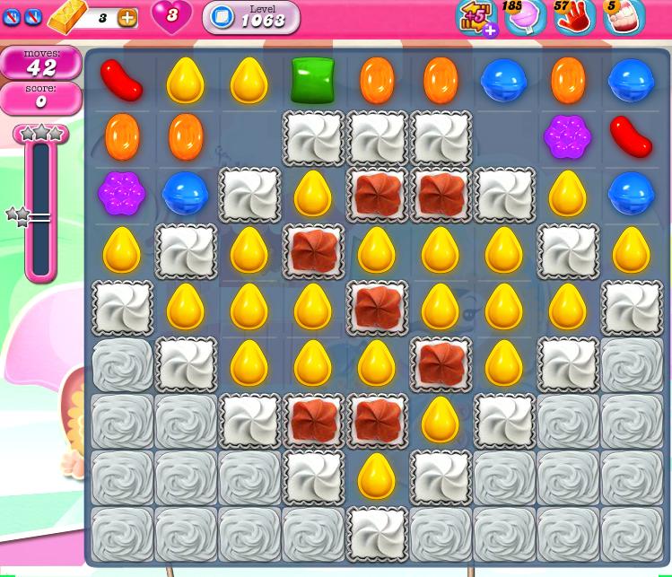 Candy Crush Saga 1063