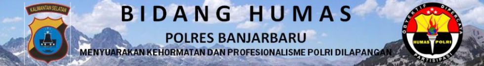 HUMAS POLRES BANJARBARU