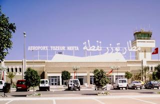 aménagement de l'aéroport international Tozeur-Nefta pour 3,3 MDT