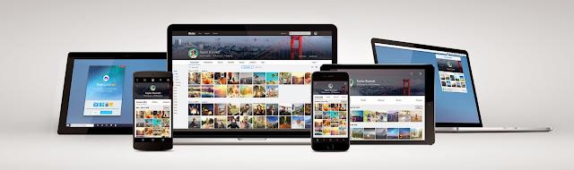 new Flickr design