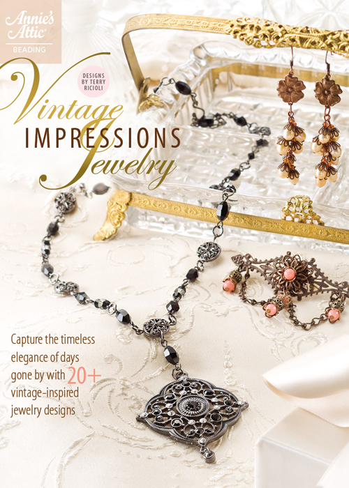 Terry ricioli designs vintage impressions jewelry for Terry pool design jewelry