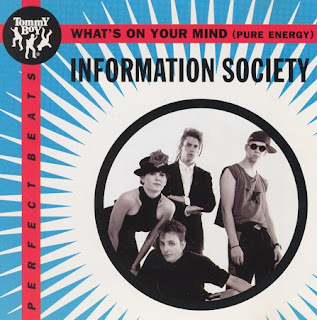 Information Society - What\'s On Your Mind (Pure Energy) (CD, Maxi-Single 1993)(Tommy Boy Music)