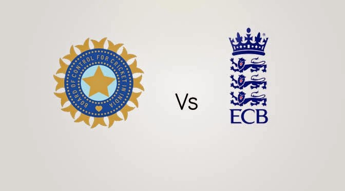 India vs England Test Cricket 2014 Live Score