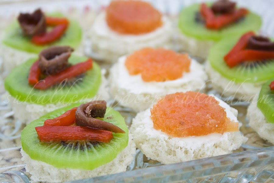 E cocinablog canapes variados for Canapes faciles y rapidos