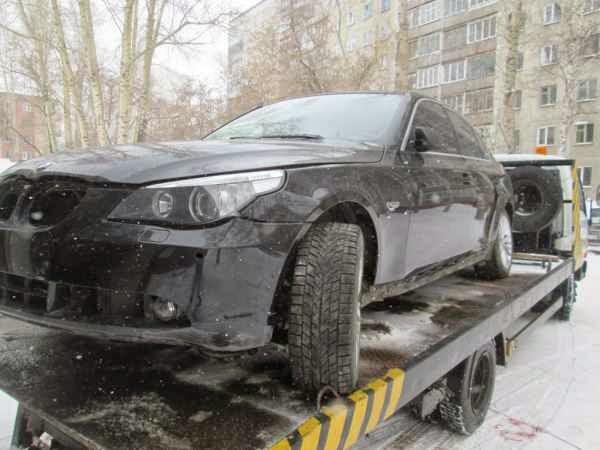 В разбор поступил BMW 5 530Xi E60 N52 B30 2007