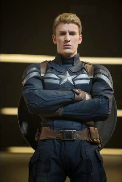Chris Evans in Captain America The Winter Soldier, a movie review