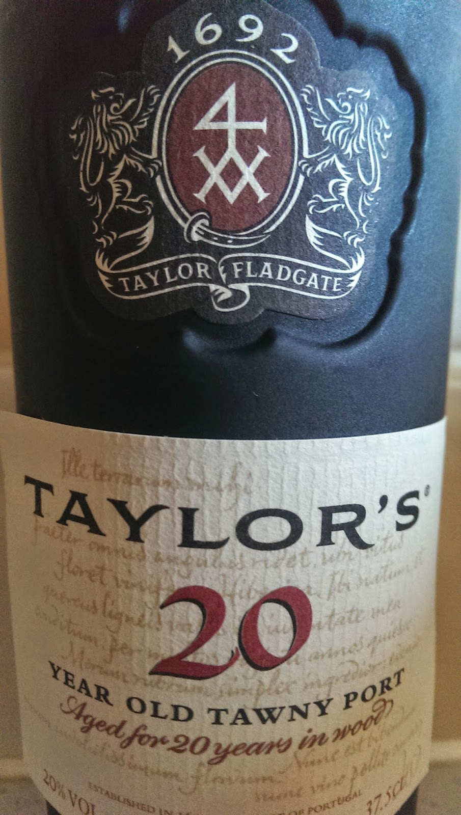 how to drink tawny port