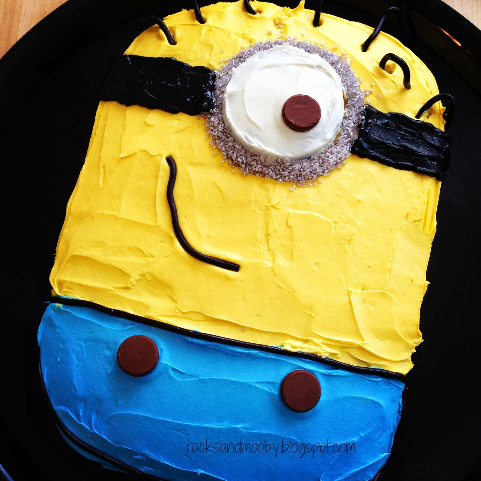 RACKS and Mooby: Despicable Me Minion Party
