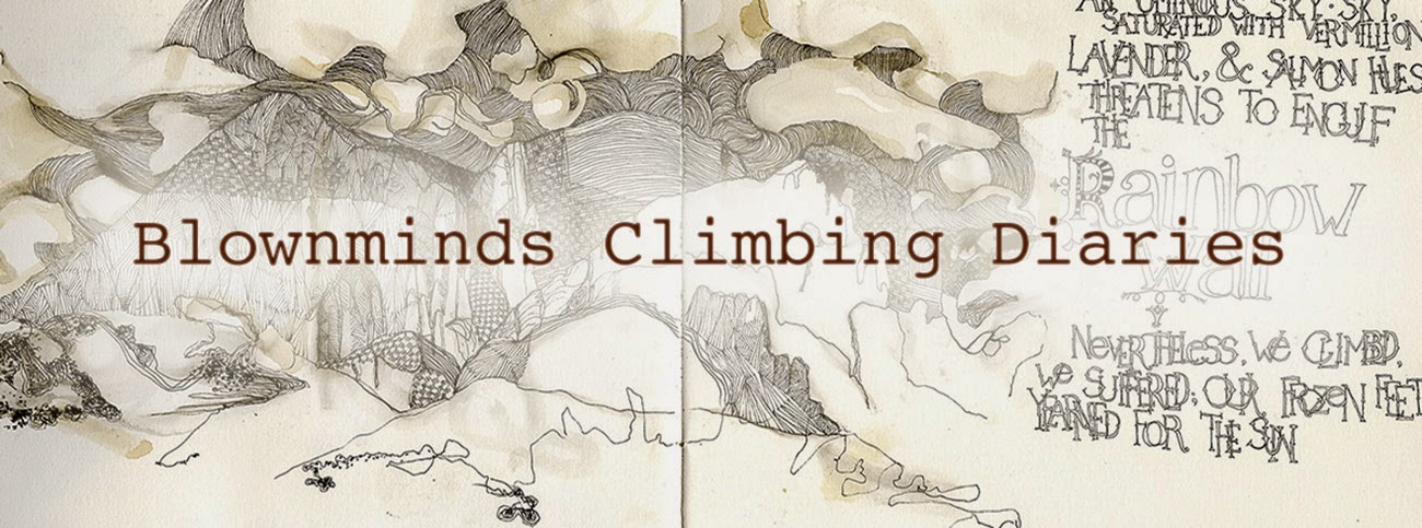 Blownminds Climbing Diaries