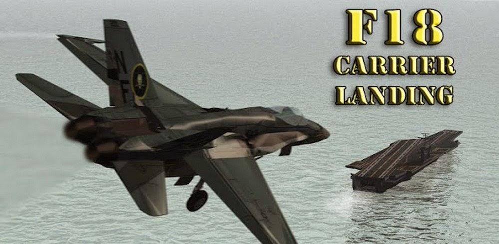 F18 Carrier Landing II Pro v1.0 APK
