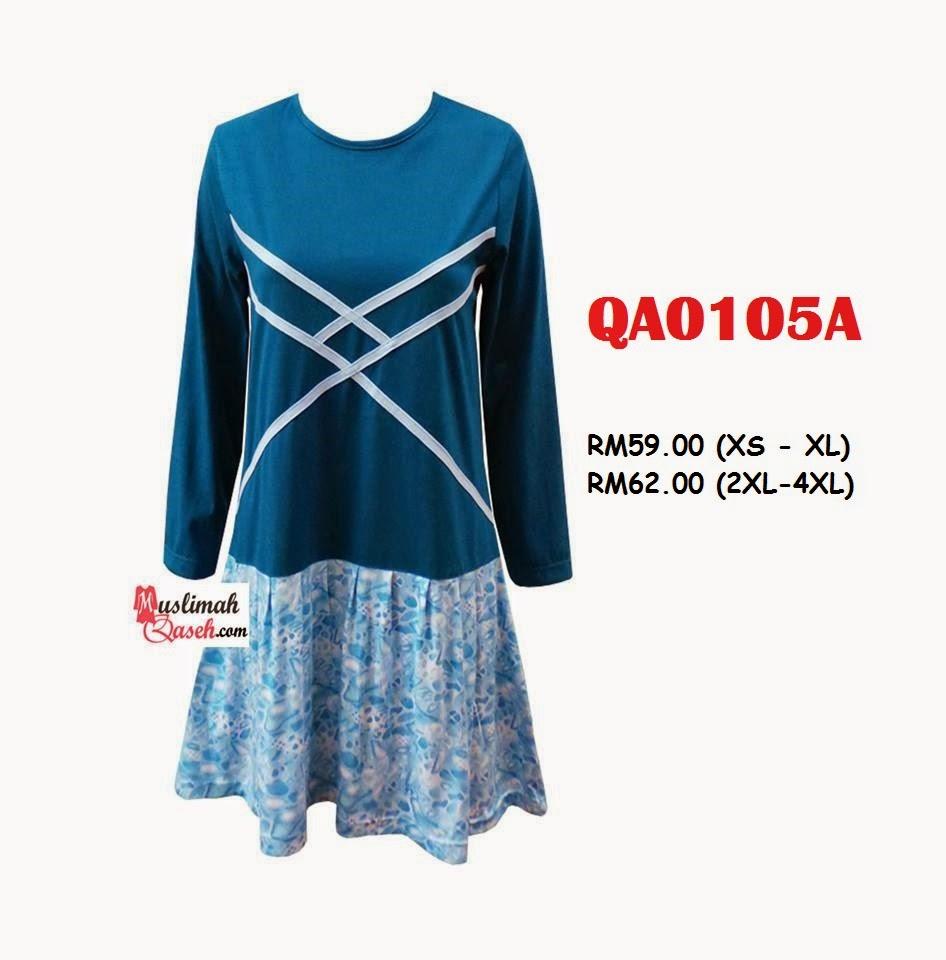 T-Shirt-Muslimah-Qaseh-QA0105A