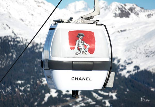 pop up store chanel nieve
