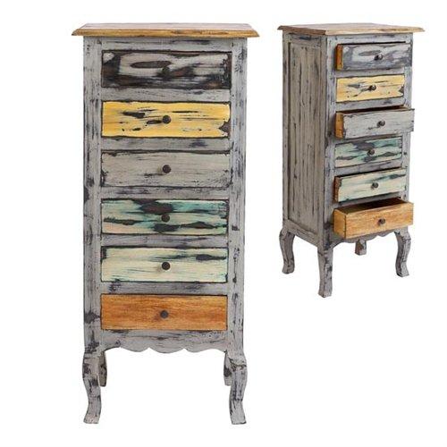 Decorando y renovando el encanto de lo desvencijado for Muebles vintage economicos