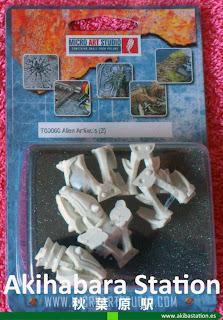 peanas de Templo, Arcana y Artefactos Alien (review) [Micro Art Studios].