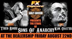 Biker Hordes Tonight at FX for Sons of Anarchy