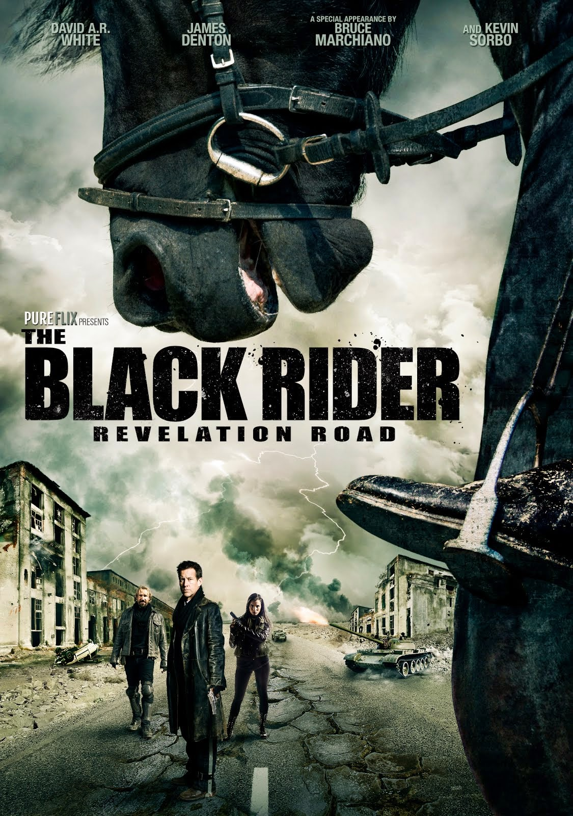 The Black Rider: Revelation Road In Stores Today!