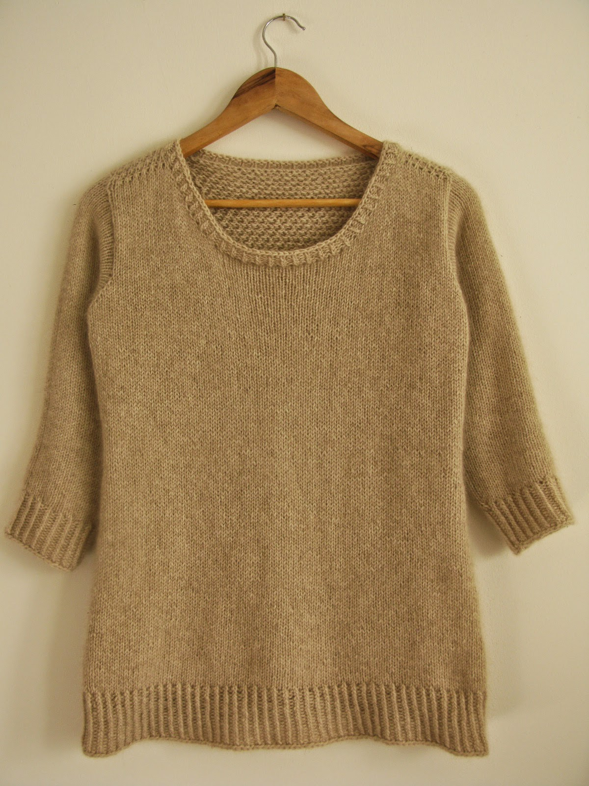 cashmere sweater knitting pattern