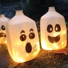 Halloween, Decoración Reciclaje