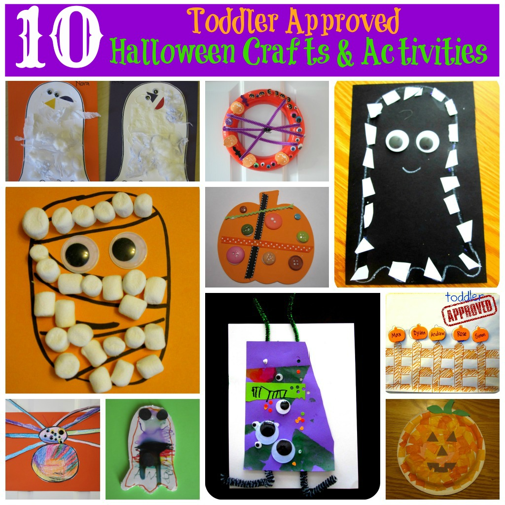 Toddler Halloween Activities Crafts