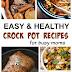 Easy & Healthy Crock Pot Recipes Kids Love