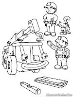 Bob Sedang Memarkir Crane Untuk Membuat Gedung
