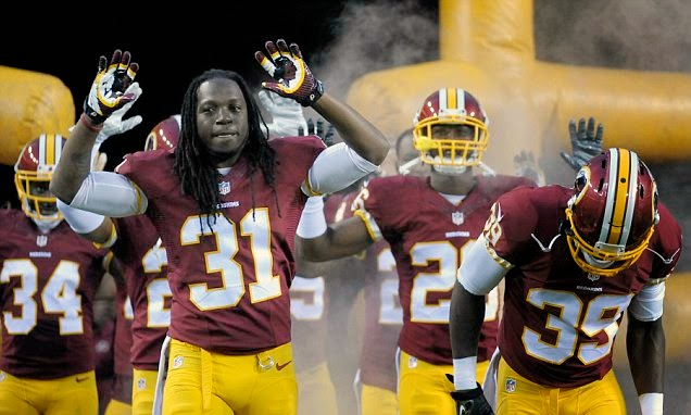 WorldStar Promo-Washington Redskins Show Support for Ferguson's Michael Brown