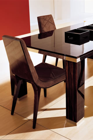 how to make mismatching dining furniture work