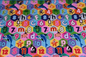 Evamatic Mat ABC 123 Animals