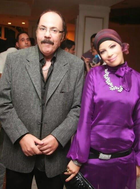مع الفنان طلعت زكريا عام 2010