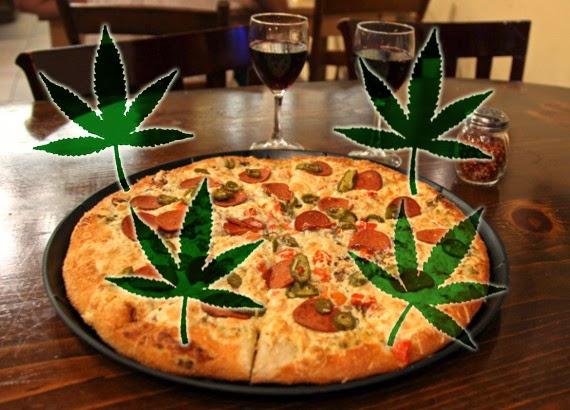 Pizza Noord-Holland = iets met drugs