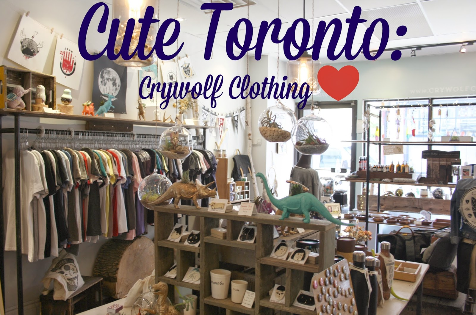 hey jules: Cute Toronto - Crywolf Clothing