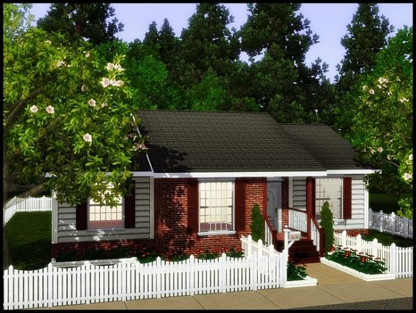 Mundo the sims 3 casa the mannington for Small starter homes